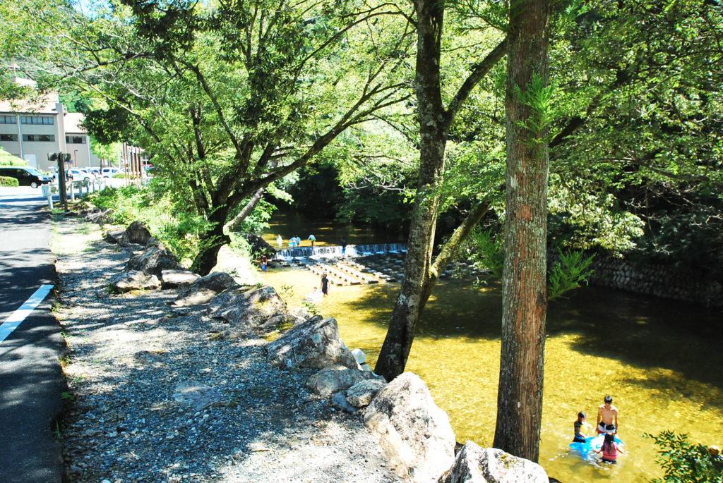 愛知県民の森でキャンプ