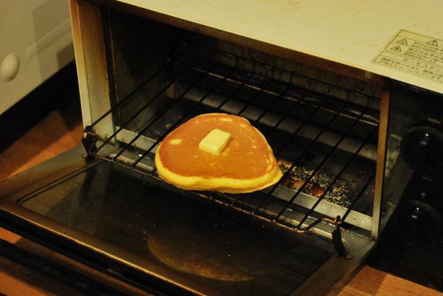 トースターを使った温め直し方