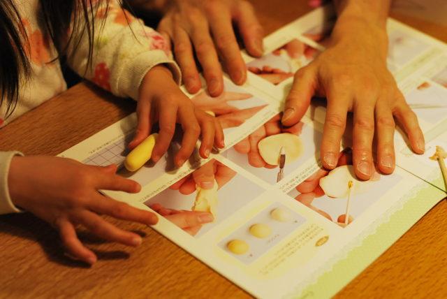アシェットの「樹脂粘土で作るミニチュアフード」を5歳の娘と作ってみた!